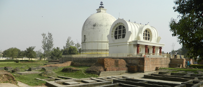 Parinirvana Stupa, Kushinagar