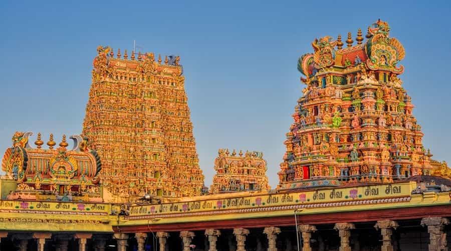 Meenakshi Amman temple,Madurai
