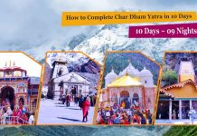 How to Complete Char Dham Yatra in 10 Days - 9 Nights