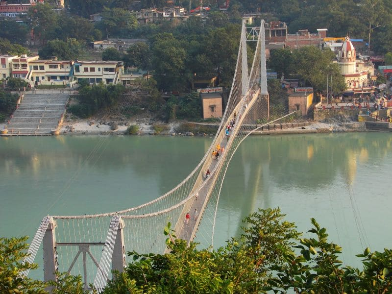 Laxman Jhula and Ram Jhula