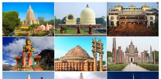 10 Buddhist Temples in India