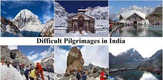 Difficult Pilgrimages in India